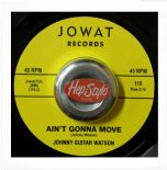 "45RE ✦ JOHNNY GUITAR WATSON ✦ ""Ain't Gonna Move / Wait A Minute Baby"""